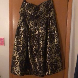WORN ONCE! Chi Chi London Baroque Dress